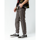 CYA Side Stripe Charcoal Mens Joggers Pants