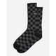 VANS Checkerboard Mens Crew Socks