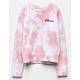 WHITE FAWN Whatever Pink Girls Sweatshirt