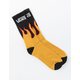 VANS Flames Mens Crew Socks