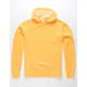 INDEPENDENT TRADING COMPANY Midweight Pigment Dyed Gold Mens Hoodie