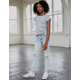 RSQ Paris Girlfriend Girls Ripped Skinny Jeans