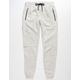 BROOKLYN CLOTH Natural Fleece Mens Jogger Pants