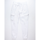 UNCLE RALPH Brush French Terry White Mens Jogger Pants