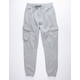 UNCLE RALPH Brush French Terry Gray Mens Jogger Pants