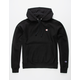 CHAMPION Reverse Weave Black Mens Hoodie