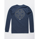 VANS x Independent Dual Logo Navy Boys T-Shirt