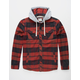 JETTY Marshend Mens Hooded Flannel Shirt