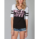 SO CAL Zebra Womens Football Tee