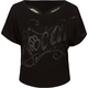 SO CAL Rock Womens Lace Cutout Tee