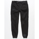 EAST POINTE Warren Moto Boys Denim Jogger Pants