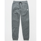 HURLEY Therma Fit Heather Black Boys Jogger Pants