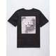 VANS Palm Leaf Print Box Boys T-Shirt