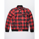 MEMBERS ONLY Buffalo Plaid Iconic Racer Mens Jacket