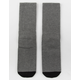 RVCA Select Black Crew Socks