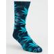 HUF Plantlife Crystal Wash Mood Indigo Mens Crew Socks