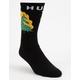 HUF Hot Fire Mens Crew Socks