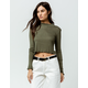 FULL TILT Essentials Olive Womens Thermal