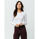 BOZZOLO White Womens Crop Thermal
