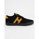 HUF Galaxy Black & Black Mens Shoes