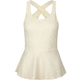 FULL TILT Lace Peplum Womens Tank