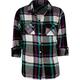 FULL TILT Button Back Girls Flannel Shirt
