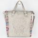 T-SHIRT & JEANS Perforated Skull Handbag