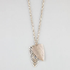 FULL TILT Cutout Triangle Pendant Necklace