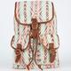 T-SHIRT & JEANS Ethnic Stripe Backpack