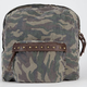 T-SHIRT & JEANS Washed Camo Backpack