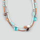 FULL TILT Southwestern 2 Row Bead Necklace