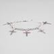 FULL TILT Cross Charm Bracelet