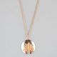 FULL TILT Rhinestone Tree Pendant Necklace