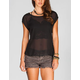 FULL TILT Chiffon Womens Fishtail Top