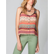 FULL TILT Ethnic Print Womens Top