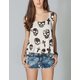 FULL TILT Cross Skull Womens Swing Tank
