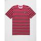 NIKE SB Stripe Red Mens T-Shirt