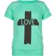 FULL TILT Love Cross Girls Cold Shoulder Tee