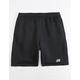 NIKE SB Icon Black Mens Sweat Shorts