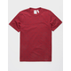 ADIDAS BF AOP Burgundy Mens T-Shirt