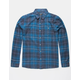HURLEY Kurt Blue Mens Flannel Shirt
