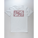 RVCA Reflector White Mens T-Shirt