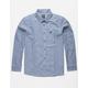 RVCA Get Rhythm Seattle Blue Mens Flannel Shirt