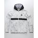 ADIDAS Marble BB Packable Mens Windbreaker Jacket