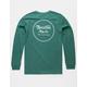 BRIXTON Wheeler II Dark Green Mens T-Shirt