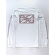 RVCA Reflector White Mens Pocket Tee