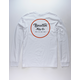 BRIXTON Wheeler II White Mens T-Shirt