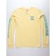 BILLABONG Boundary Lemon Mens T-Shirt