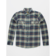LOST AT SEA Anacap Mens Flannel Shirt