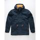 BRIXTON Monte Navy & Khaki Mens Parka Jacket